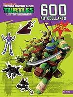 Tortues Ninja / 600 autocollants