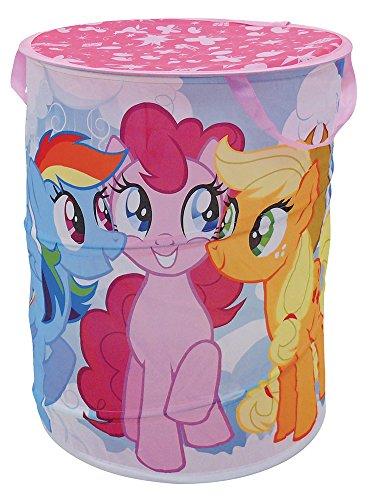 Fun House 712528 Pop Up My Little Pony Panier à Linge pour Enfant Polyester Rose 38 x 38 x 50 cm