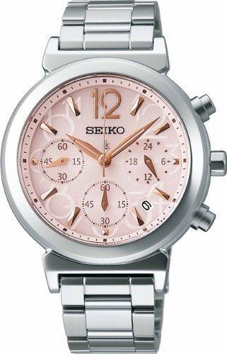 [セイコーウォッチ]SEIKO WATCH 腕時計 LUKIA ルキア ソーラー サファイアガラス スーパークリア コーティング 日常生活用強化防水 (10気圧) SSVS015 レディース