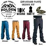 15-16 HOLDEN ウェア ホールデン スノーボードウェア STANDARD PANT SKINNY  FIT スタンダード パンツ スキニー フィット ストレッチ メンズ (Midnight, M)