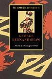 Cambridge Companion to George Bernard Shaw, The (Cambridge Companions to Literature)