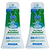 SmartMouth Original Activated Mouthwash for Fresh Breath, Dual-Solution Oral Rinse System, 16 ounce, 2 pack