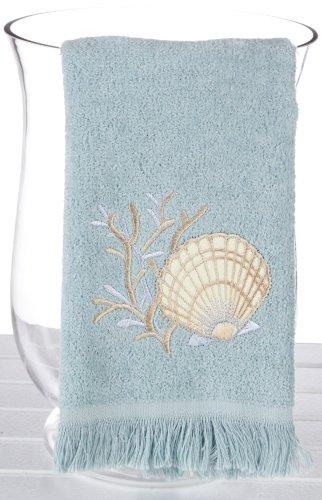 Seashell Fingertip Towel