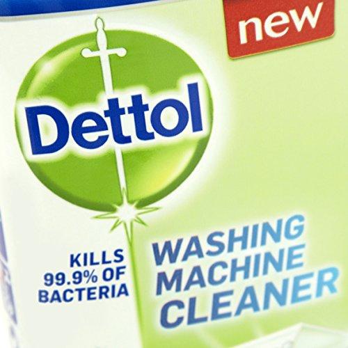 dettol washing machine cleaner