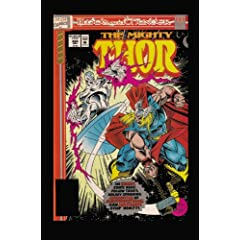 Thor: Blood &amp; Thunder by Ron Marz,&#32;Jim Starlin,&#32;Bruce Zick and M. C. Wyman