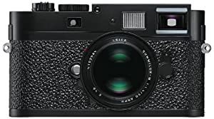 Leica M9-P Digital Rangefinder Camera Body, 18mp with 24 x 36 mm Format Sensor - Paint Black