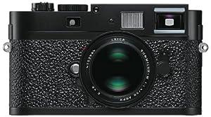 Leica M9-P Digital Rangefinder Camera Body, 18mp with 24 x 36 mm Format Sensor - Paint Black