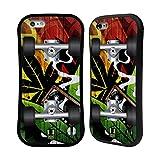 Head Case Designs レゲエ スケートボード ハイブリッドケース Apple iPhone 6 / 6s