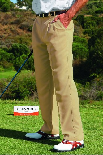 Glenmuir Mens Russell Golf Trousers 25% OFF - 30