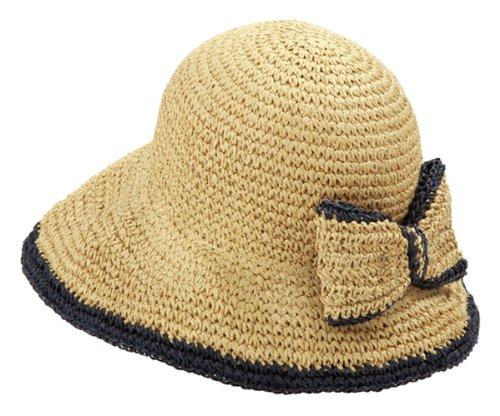 ペーパー素材の小顔UV帽子