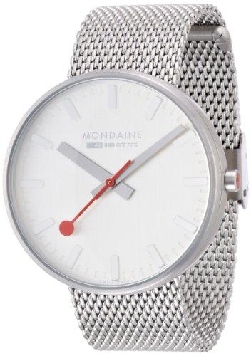 MONDAINE - A6603032816SBM - Montre Homme - Quartz - Analogique - Bracelet Acier Inoxydable Argent