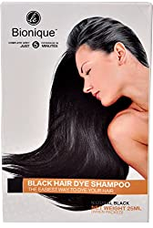 Le Bionique Black Hair Dye Shampoo - 25ml
