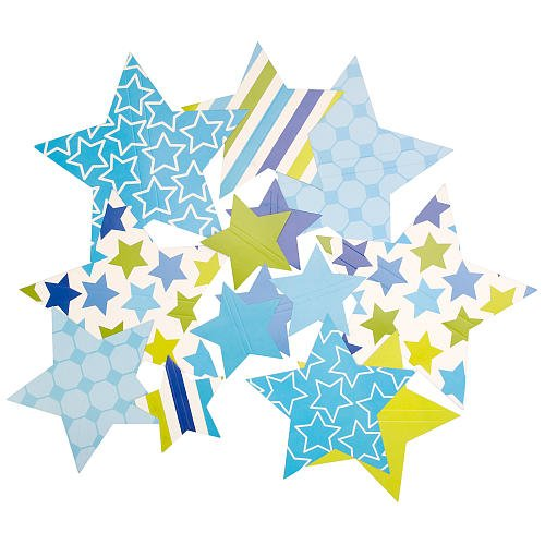 littlemissmatched Superstar Paper Wall Decals-14pc