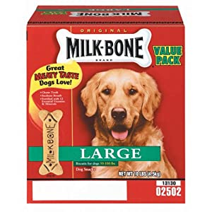 Milk Bone 10 Lb Large Original Dog Biscuits  79100-9