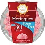Krunchy Melts' Sugar Free Meringue Cookies 2 oz Tub (12 Pack) (Strawberry)