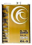 TAKUMIモーターオイル MULTI GEAR【80W-90】高性能ギアオイル 鉱物油(MINERAL BASE) 最高規格GL-5 4L 【送料無料】 MG8090-00401