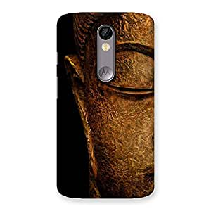 Gorgeous Lord Buddha Multicolor Back Case Cover for Moto X Force