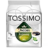 Bosch Tassimo 'Jacobs Kronung XL' 16 Large T Disc Coffee Machine Capsules