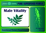 Male Vitality - Male Enhancement Pills & Testosterone Booster - Horny Goat Weed, Tongkat Ali, Ginseng and more...