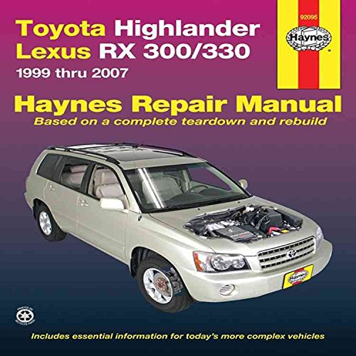 toyota-highlander-lexus-rx-330-automotive-repair-manual-07-by-joe-l-hamilton-published-november-2010