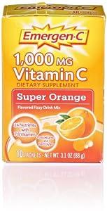 Emergen-C, Super Orange, 10 Count