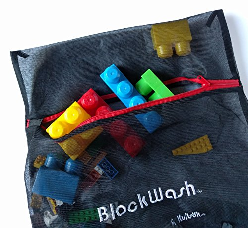 Clean and Sanitize Lego Duplo Mega Bloks any Plastic Toys - Keep Kids Healthy- Wash Used Legos and Dirty Blocks, Blockwash Health Board Approved for Daycare Cleaning Supplies