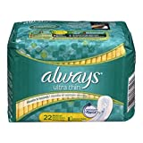 Always 12/22 Ultra Thin  Regular  22Ct (Pack of 4)