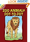 Zoo Animals Dot-to-Dot (Dover Little...