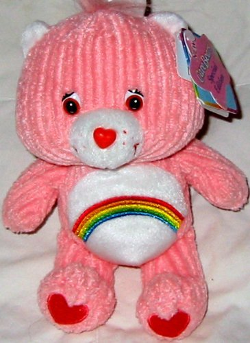 "Care Bears Cheer Bear 8"" Plush Bear - 1"