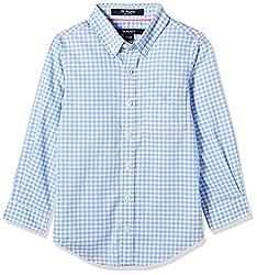 Gant Boys' Shirt (GBSHF0003_Ampard Blue_XS)
