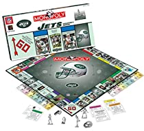 NEW YORK JETS Team Logo Collector's Edition MONOPOLY (Includes six collectible pewter tokens)