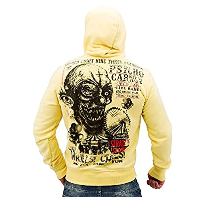 Yakuza ORIGINAL Hoodie HOB 491 - pale banana
