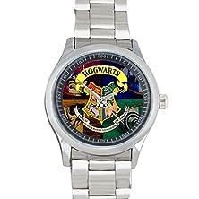 buy Daguys Custom Harry Potter Steel Metal Leather Band Watch Wrist Watch For Men Gift