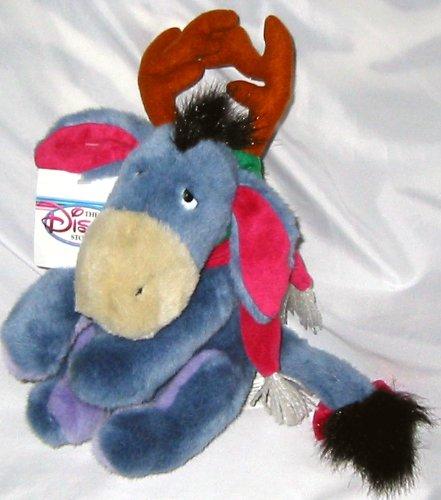 "10"" Reindeer Eeyore Plush"