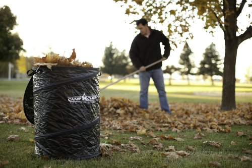 Camp Chef GCAN Collapsible Camping Garbage Can (Black, 26-Inch) (Collapsible Trash Can For Camping compare prices)