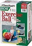 D&M セラバンド SDSエクササイズボール レッド 55cm SDS-55