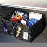 KooPower® Sac sacoche panier stockage rangement organisateur portable pliant auto coffre voiture voyage avec 7 poches de différentes tailles Sac de rangement pliant pratique pour coffre de voiture...