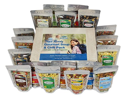 Harmony House Foods, Trail Ready Gourmet Soup & Chili Pack, 18 Zip Pouches (Harmony House Backpacking Kit compare prices)
