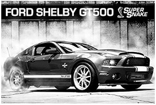 bestweeks-cars-ford-mustang-shelby-gt500-supersnake-cartoon-game-movie-print-size-c391-silk-fabric-c