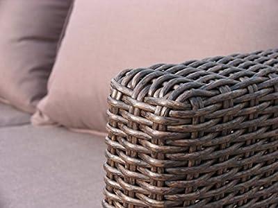 Lounge Sofa 2 sitzig Ibiza verstellbar von Famous Home bei Gartenmöbel von Du und Dein Garten