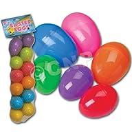 Plastic Eggs (Dozen Per Order)