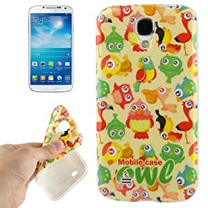 Parrot Pattern TPU Case for Samsung Galaxy S4 i9500