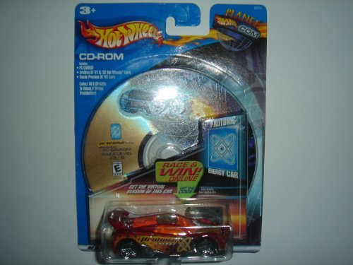 2002 Hot Wheels Protonic Energy Car MS-T Suzuka Red - 1