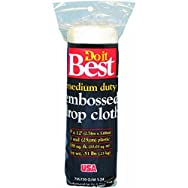 Do it Best Embossed Plastic Drop Cloth-1MIL 9X12 PLS DROP CLOTH