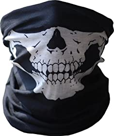 Skull Tubular Mask Bandana Motorcycle Scarf Face Neck Warmer GHOSTS Call of Duty helmet