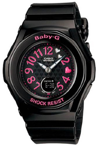 Baby-G Ana-digi World Time Black Dial Women's watch #BGA-105B-1B