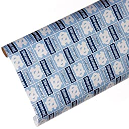 NCAA North Carolina Tar Heels Team Gift Wrap