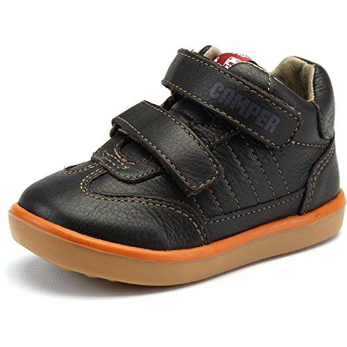 Camper Pelotas Dark Brown Leather 22 EU