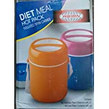 Diet Meal Hot Pack Insulated Tiffin Carrier