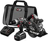 Porter-Cable PC218C-2 18-Volt NiCad Cordless 2-Tool Combo Kit
